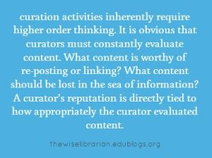 Curation tips