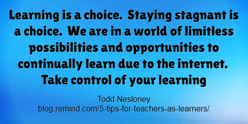 Learnning is a choice