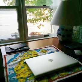 My vacation office!