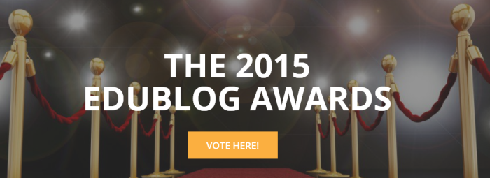 The 2015 Edublog Awards